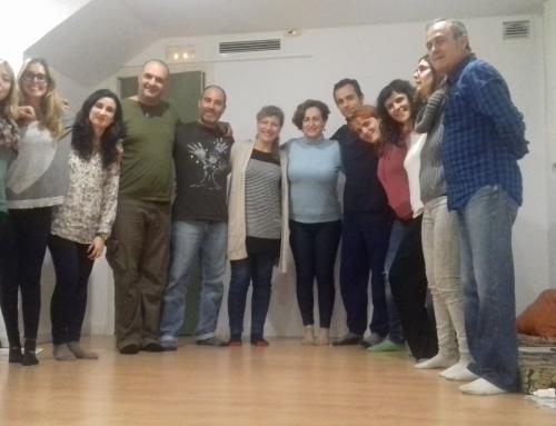 Redescubriendo talentos en Murcia. Taller pasado por agua.